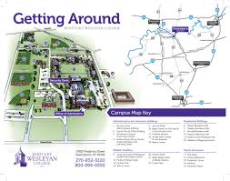 Georgia State University Campus Map by Campus Map U2013 Kentucky Wesleyan College