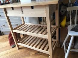 ikea forhoja kitchen trolley butcher u0027s block island in york