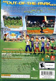 Backyard Sport Games Backyard Sports Sandlot Sluggers Xbox360 On Xbox360 Game