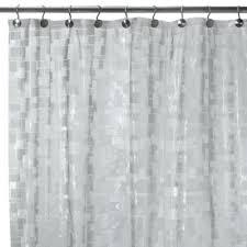 Vinyl Shower Curtains Bathroom Decor White Vinyl Shower Curtains Bathroom For Sets