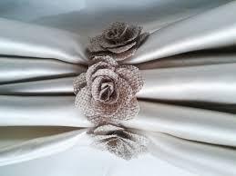Linen Burlap Curtains Curtain Tie Back2pcsburlap Flower Curtain Tie Backsshabby