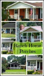 Ranch Style Home Decor 121 Best Ranch Home Porches Images On Pinterest Exterior Remodel