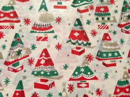 Retro Paper Christmas Decorations - 76 best vintage christmas gift wrap images on pinterest