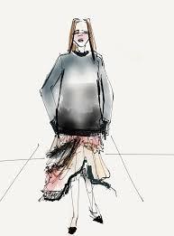 wwd u0026 fiftythree app paper live sketch new york fashion week flare