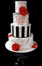 wedding quotes on cake inspired painted tier stitches quotes wedding cake