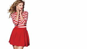 taylor swift 9 wallpapers taylor swift in a red skirt hd desktop wallpaper widescreen