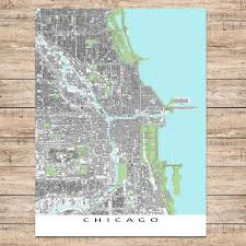Chicago On A Map Chicago On Map Of Usa Chicago On Usa Map United States Of America