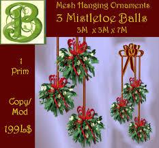 second marketplace 3 hanging mesh mistletoe ceiling