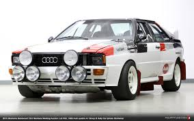 first audi quattro 1985 audi sport quattro and 1982 group b rally quattro offered by