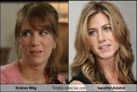 Kristen Wiig Memes - kristen wiig totally looks like jennifer aniston cheezburger