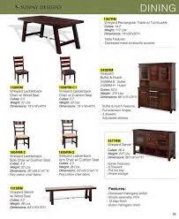 prices u2022 sunny designs vineyard dining furniture u2022 al u0027s woodcraft