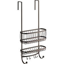 interdesign york over the shower door shower caddy walmart com