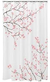 Home Classics Shower Curtain Home Classics Cherry Blossom Fabric Shower Curtain