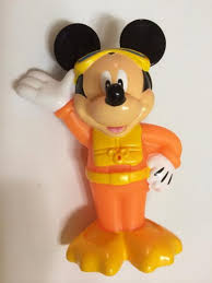 Mickey Mouse Bathroom Faucets by Amazon Com Mickey Mouse Bath Squirter Bathtub Toys Baby