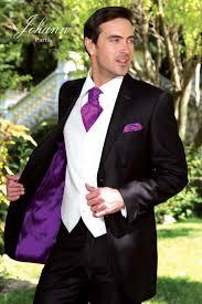 costume pour mariage johann costume mariage cérémonie noir et mauve