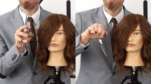 different ways to cut the ends of your hair how to hold your shears in different ways to cut hair comfortably