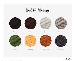 obsidian color chart the basic beanie resources for your handmade home u0026 wardrobe