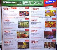costco pre thanksgiving savings coupon book november 20 30 2015