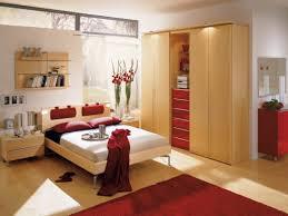 surprising cream bedroom decoration using 2 level peach green