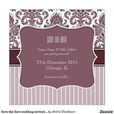 Indian Wedding Invitations Chicago Save The Date Wedding Invitation Card Red Grey Wedding