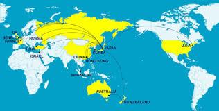 map us and korea zumreed wanted