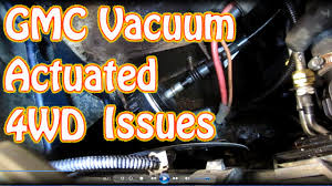 diy how to replace 4wd vacuum actuator switch on a blazer s10
