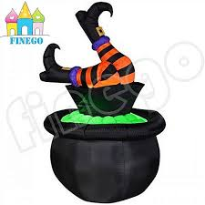 china 1 8m 6ft feet up inflatable halloween witch decorations