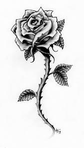 tattoo of a rose rose tattoo design by hamdoggz on deviantart