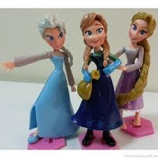 rapunzel cake topper disney frozen elsa frozen rapunzel cake topper figurine