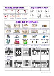 50 free esl prepositions of movement worksheets