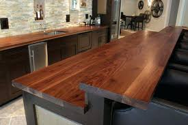 kitchen bar top ideas wood bar top ideas xecc co