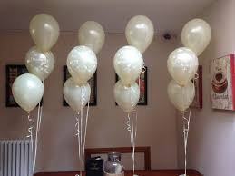 balloon delivery kansas city mo simple and christening balloons in ivory balloon