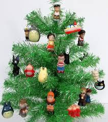 christmas christmas tree books diy amazon com studio ghibli 15 piece mini christmas tree ornament