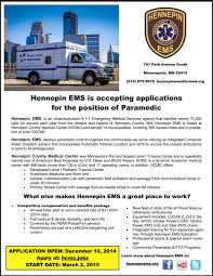 hennepin ems is hiring very solid job and benefits ems