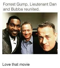 Forrest Gump Memes - forrest gump lieutenant dan and bubba reunited love that movie