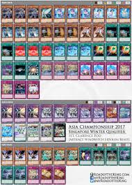 Stardust Dragon Deck List by Yu Gi Oh Asia Championship 2017 Singapore Winter Qualifier Road