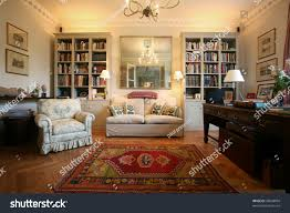 luxury classic style living room bookshelf stock photo 38848804