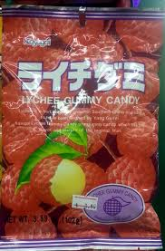 lychee fruit candy ライチグミ lychee gummy candy