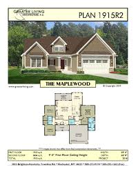 ranch house plan plan 1915r2 the maplewood ranch house plan greater living