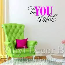 girls bedroom wall decals inspirational vinyl wall quotes be you for teen girl bedroom wall