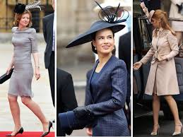 dresses for wedding guests 2011 wedding guests wore high fashion hats to kate and prince william s