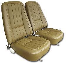 1968 corvette seats 1968 corvette reproduction vinyl seat covers set