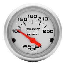 amazon com auto meter 4337 ultra lite electric water temperature
