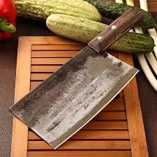 buy chu family shells steel knife handmade knives forged steel