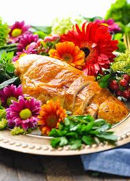 garlic and herb roast turkey breast the seasoned