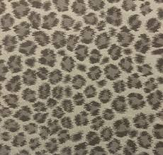 ballard designs cheetah taupe leopard sunbrella outdoor fabric by