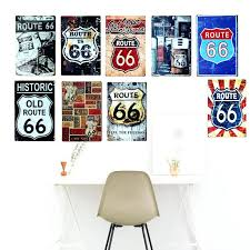 home decor wall plaques home decor wall plaques route us metal tin signs old route signage