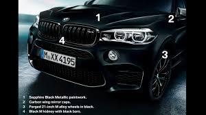 Bmw X5 Black - bmw x5 m and x6 m black fire edition look downright sinister