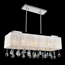 Crystal Drum Shade Chandelier 10 Light Chrome Drum Shade Chandelier From Our Water Drop
