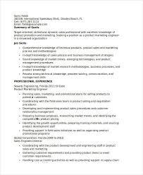 Infantryman Skills Resume Product Engineer Resume Quality Engineer Job Description Quality
